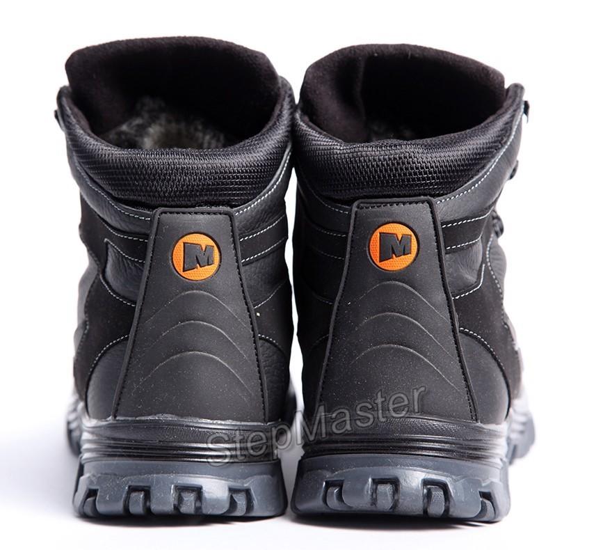 Ботинки кожаные Merrell Protector Black