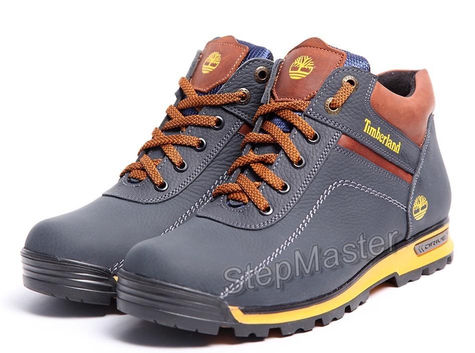 Ботинки кожаные Timberland Sheriff Drive синие