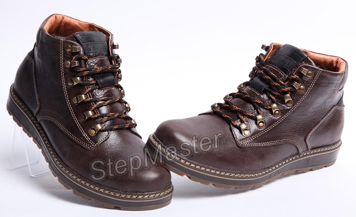 Ботинки кожаные Levis Legio Brown