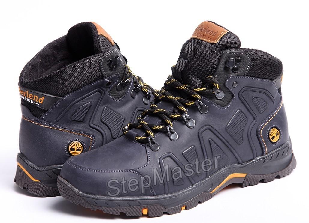 Ботинки кожаные зимние Timberland Pro Mk II Nubuck Denim