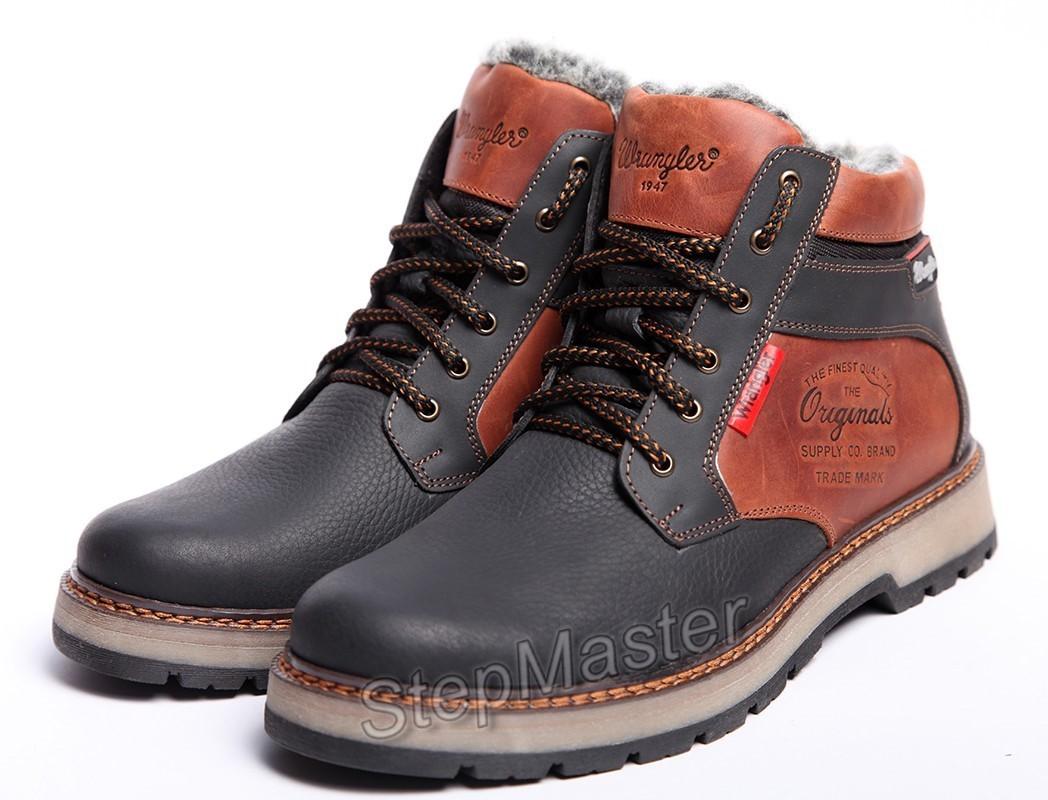 Ботинки кожаные Wrangler Arizona