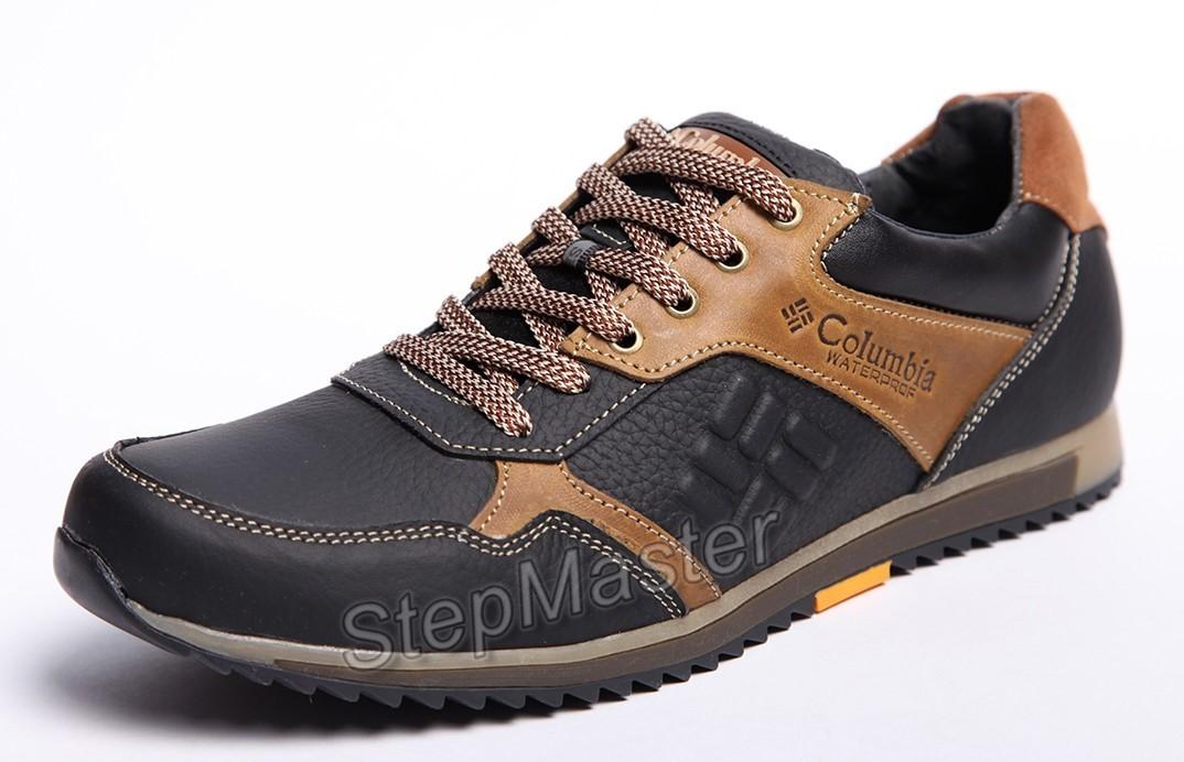 Кроссовки кожаные Columbia Montrail