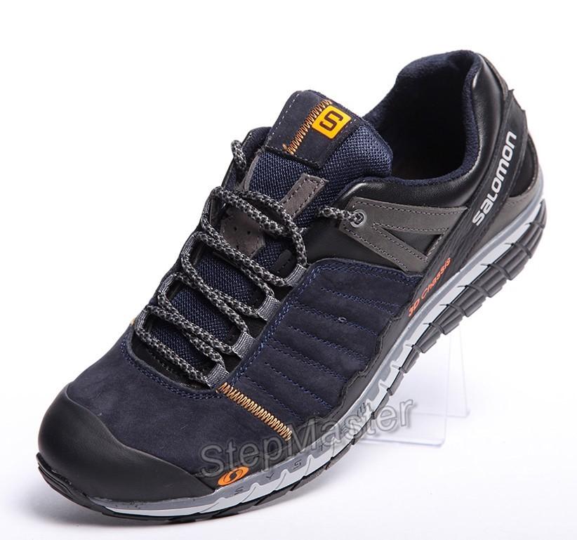 Кожаные кроссовки Salomon 3D Chassis