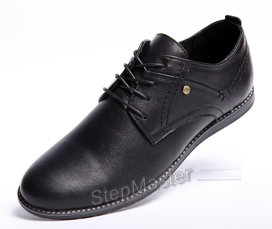Туфли кожаные Clarks Sheridan Black