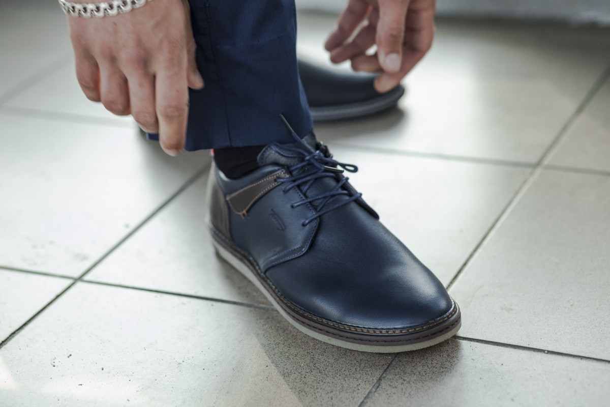 Спортивные кожаные туфли Tommy Hilfiger Classic