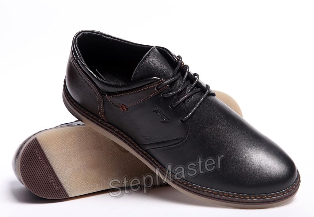 Спортивные кожаные туфли Tommy Hilfiger Classic Black