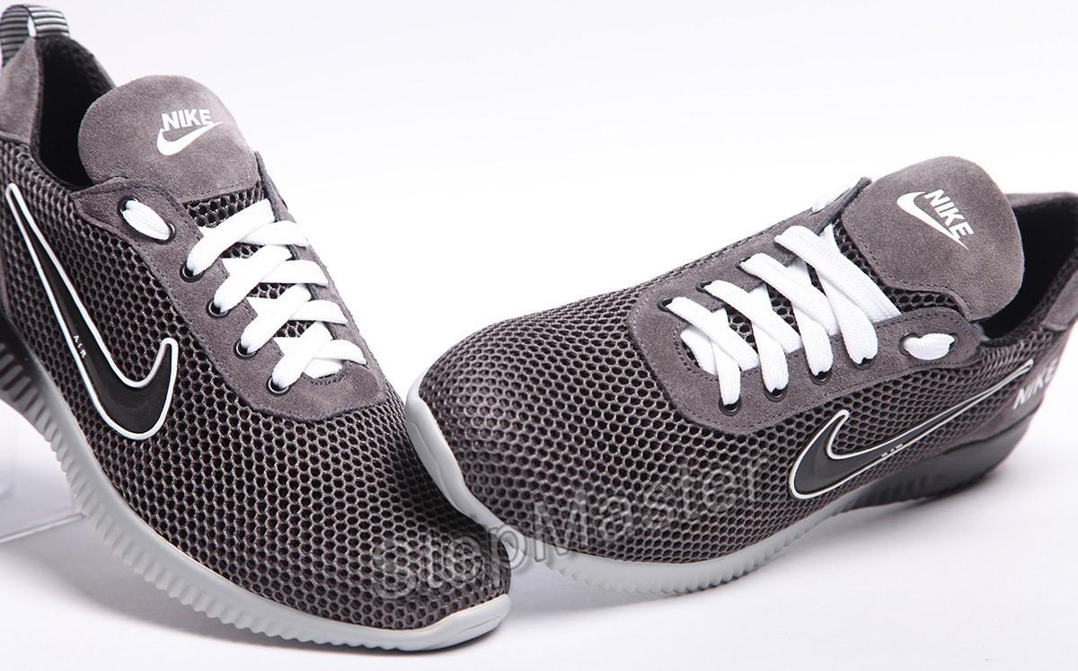 Кроссовки Nike Roshe Run замша-сетка