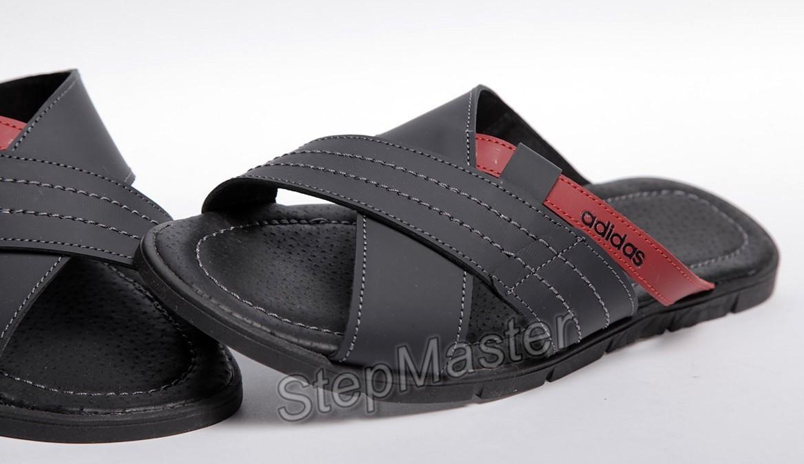Шлепанцы мужские кожаные Adidas ST