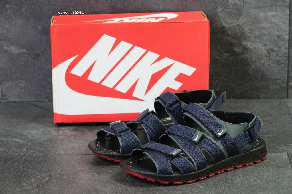 Мужские кожаные сандалии Nike Summer Denim