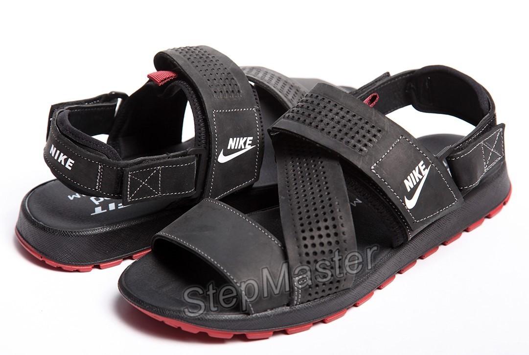 Кожаные сандалии-трансформеры Nike Summer Nubuck