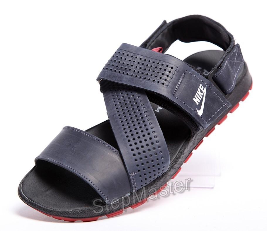 Кожаные сандалии-трансформеры Nike Summer Nubuck Denim