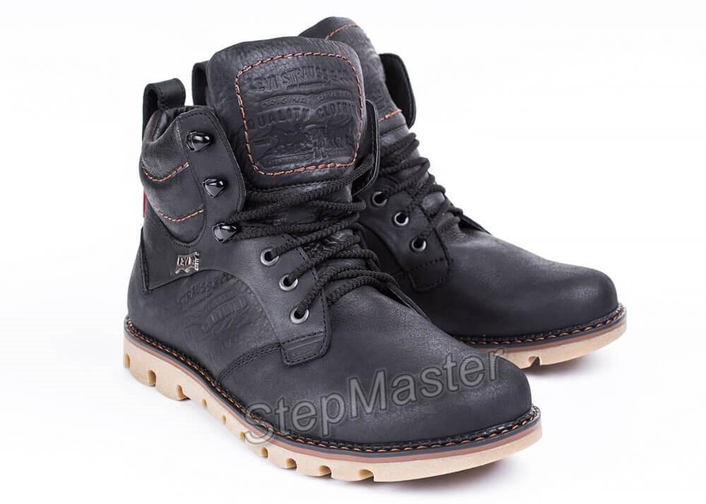 Ботинки кожаные мужские Levis Leather Jax Shoes