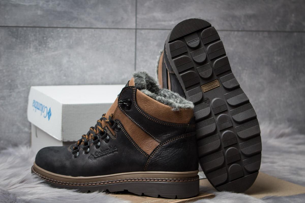 Кожаные зимние ботинки Columbia Chinook Black