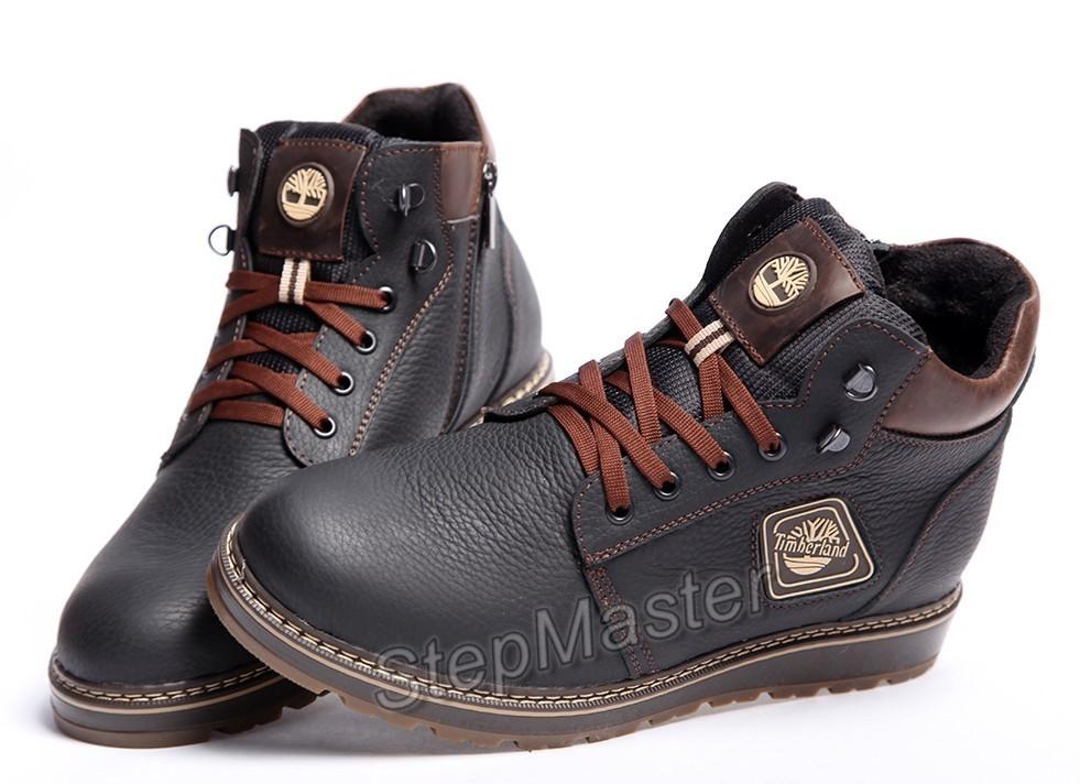 Зимние кожаные ботинки на меху Timberland Radford