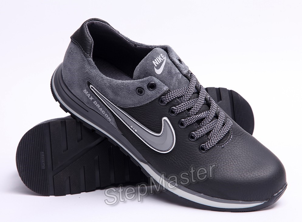 Кроссовки кожаные мужские Nike Air Max Dragon