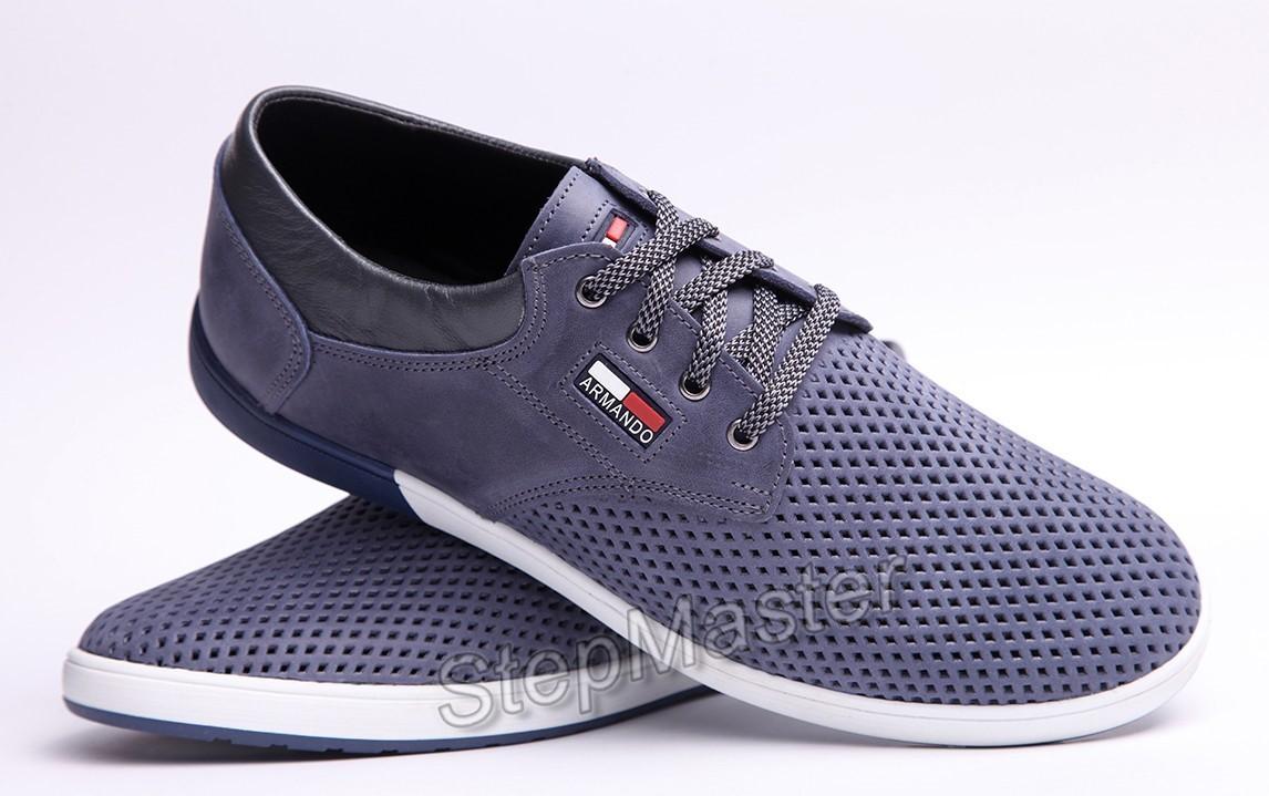 Спортивные туфли Hilfiger Denim - натуральный нубук с перфорацией