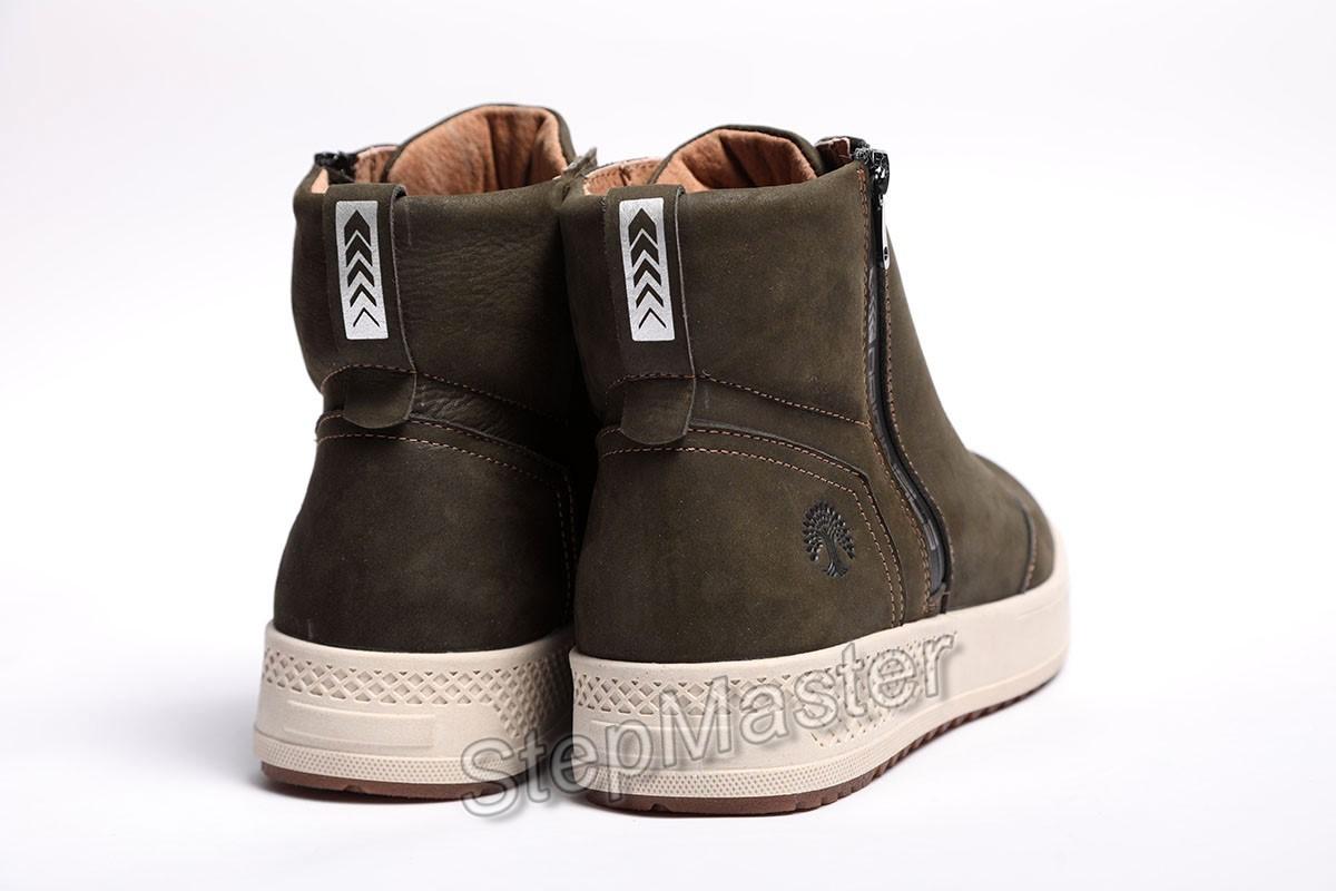 Ботинки мужские Clarks Norsen Olive