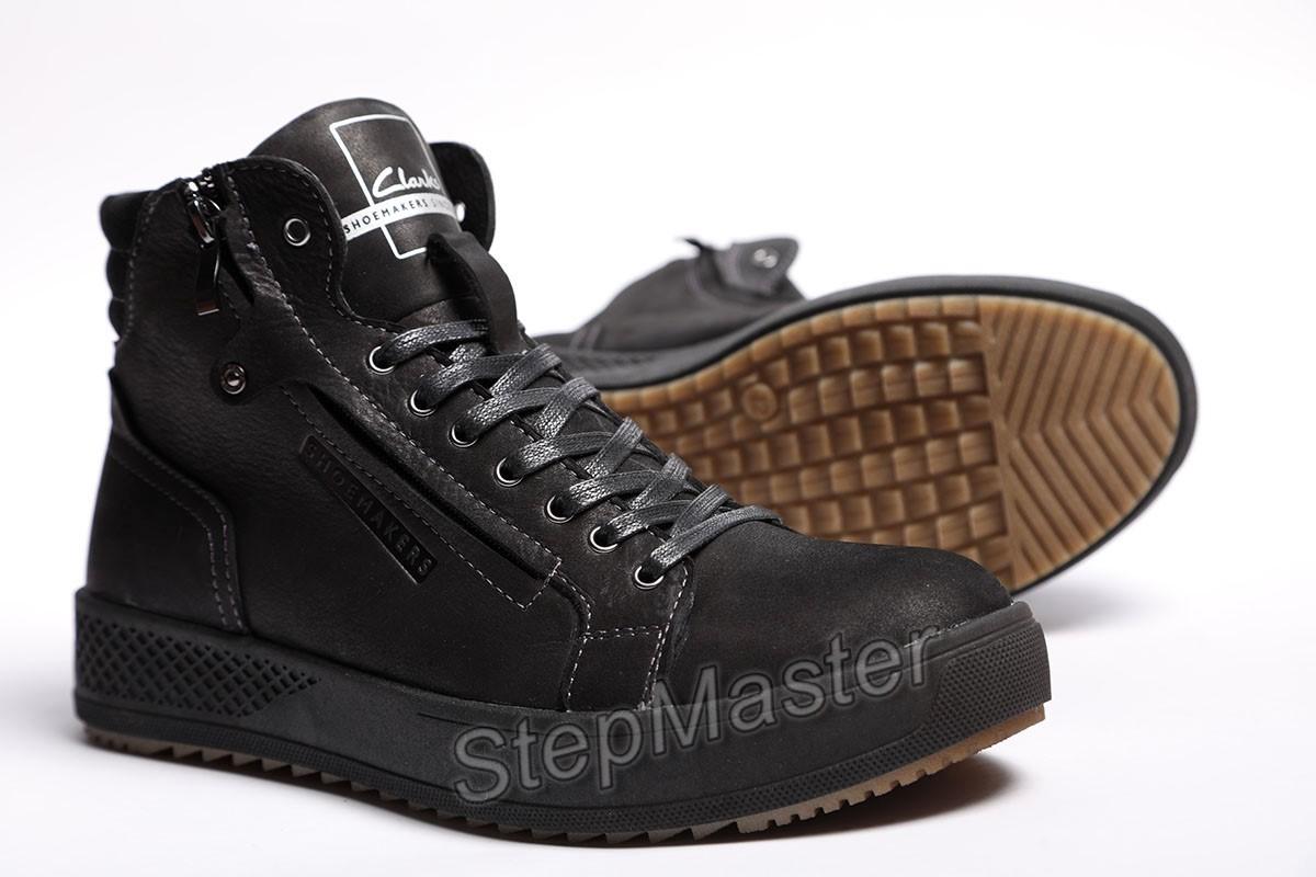 Ботинки мужские Clarks Zippo black
