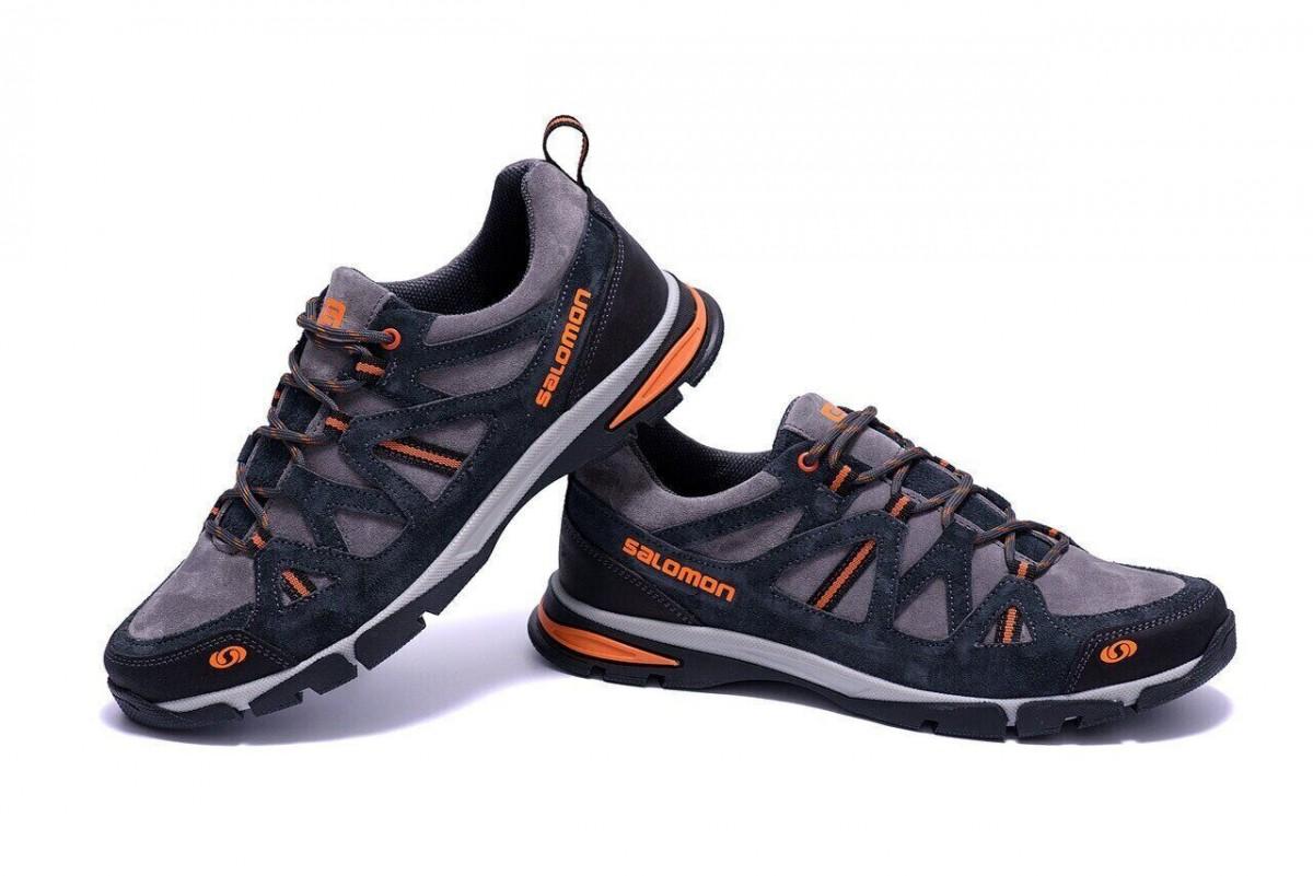 Мужские кожаные кроссовки Salomon Ultra Track