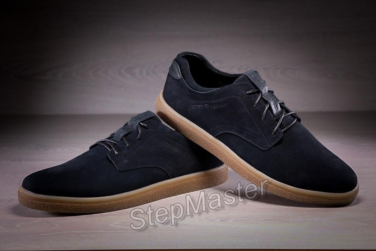 Кожаные мужские туфли Tommy Hilfiger Denim