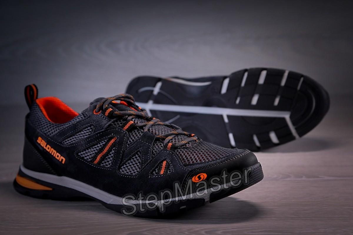 Кроссовки Salomon Ultra Track кожа нубук сетка