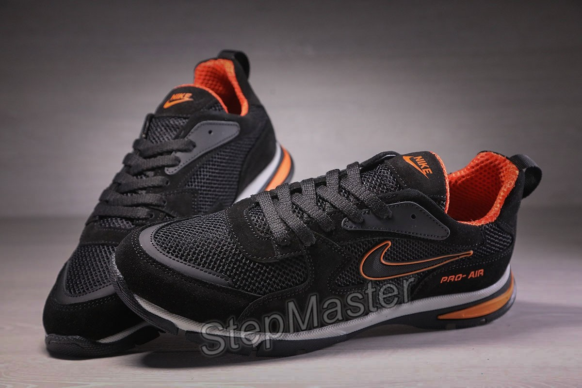 Кроссовки мужские Nike Pro Air кожа сетка