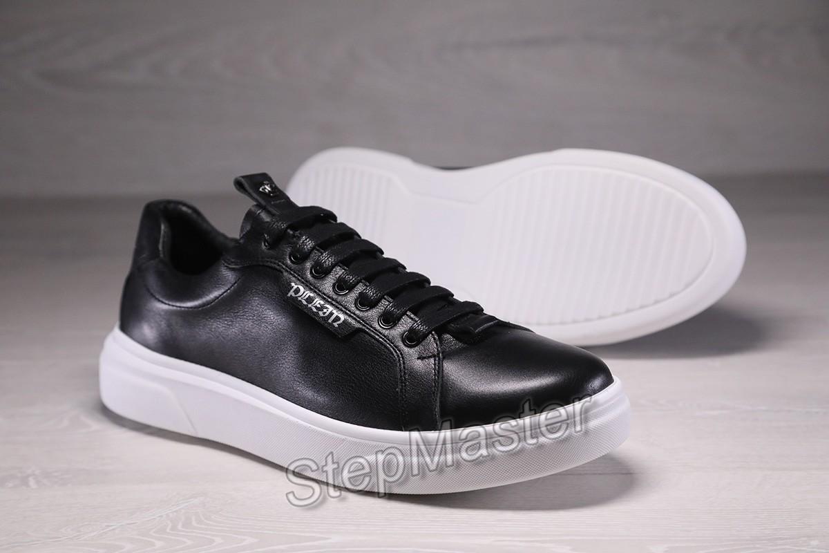 Мужские кожаные кроссовки Philipp Plein