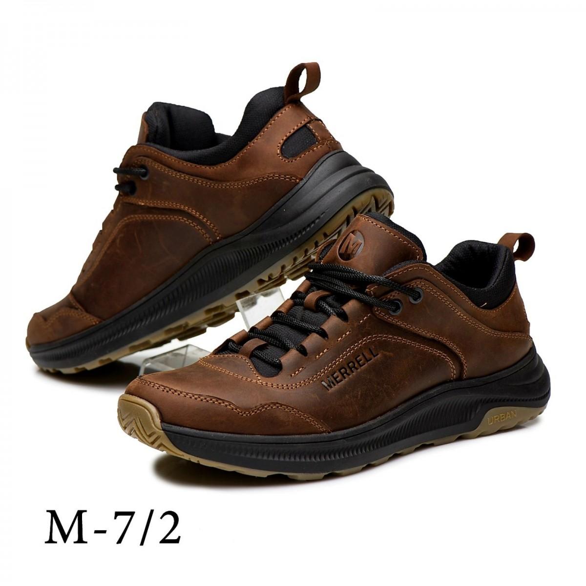 Кроссовки мужские кожаные Merrell Urban Nubuck Brown