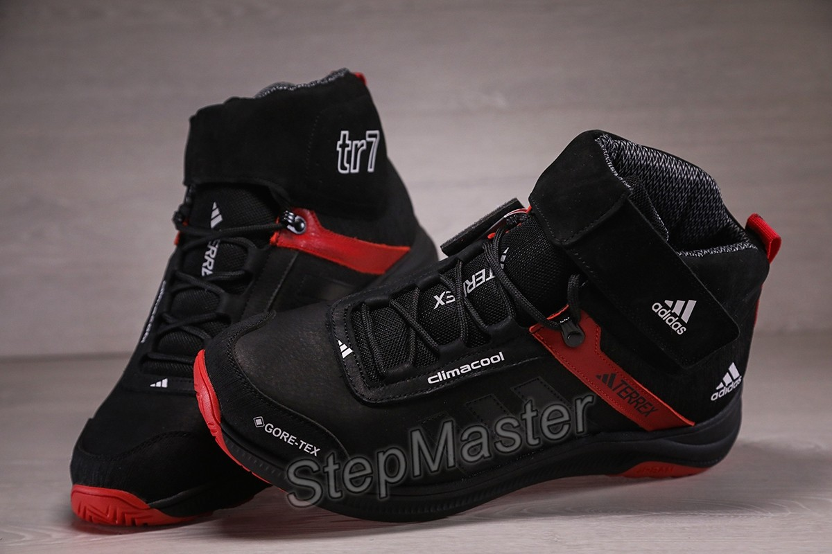 Зимние кожаные кроссовки Adidas Terrex Swift Gore-Tex