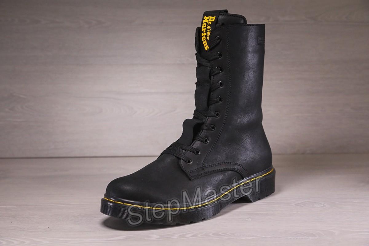 Мужские ботинки, берцы Dr. Martens Contrast Welt Stich