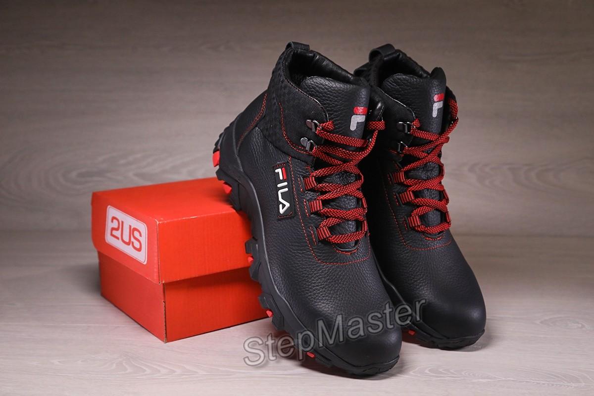 Кроссовки кожаные зимние на мембране Fila GTX