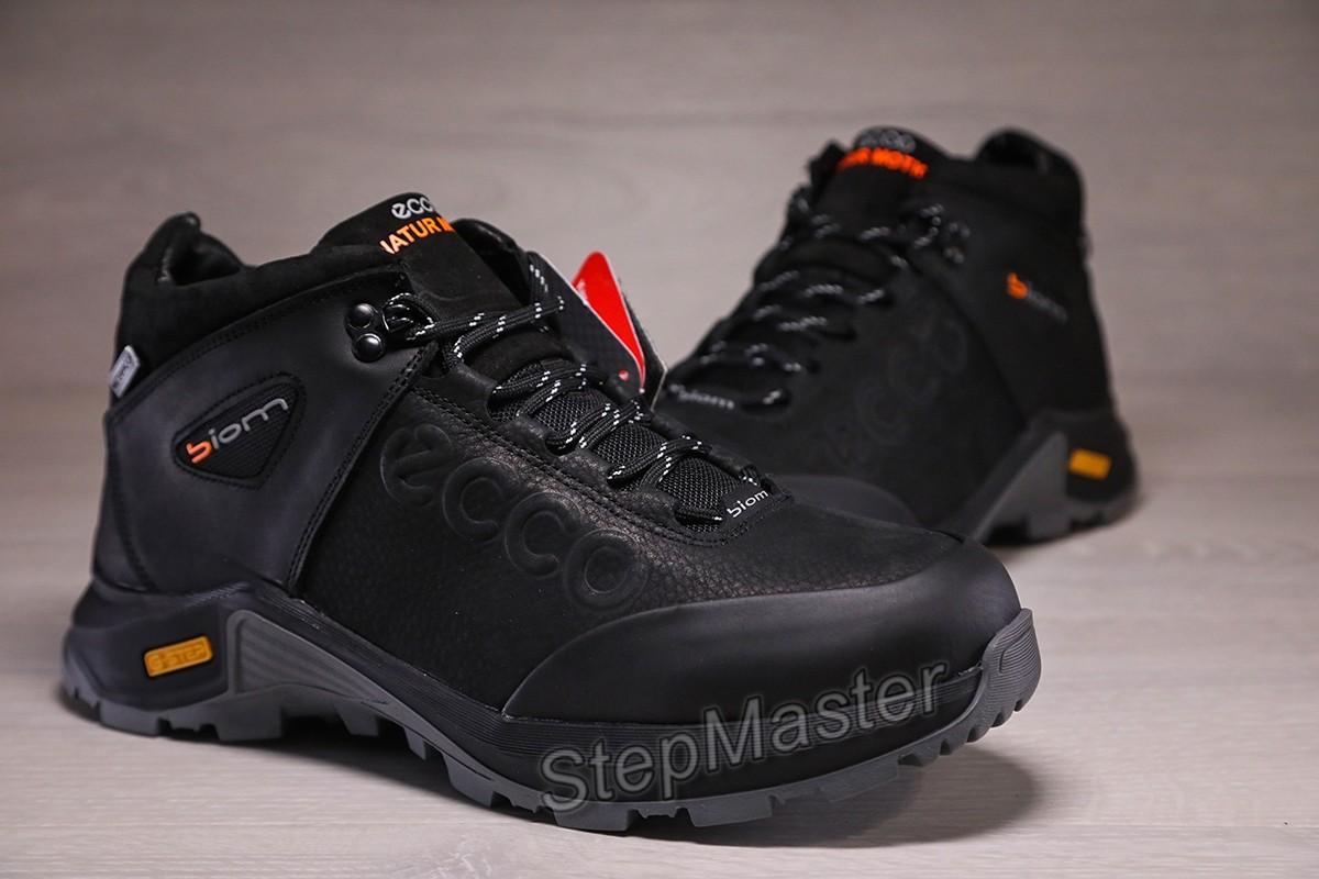 Зимние кроссовки ботинки ecco biom