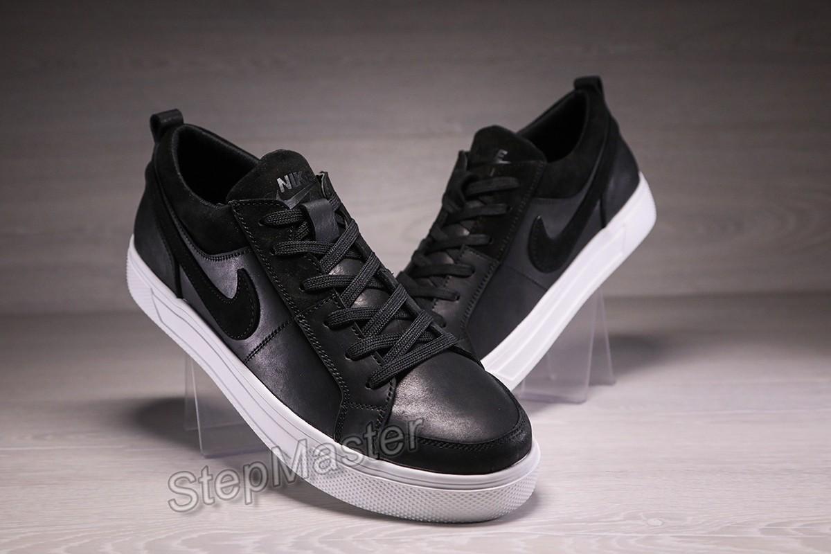 Кроссовки кеды мужские кожаные Nike Air Force