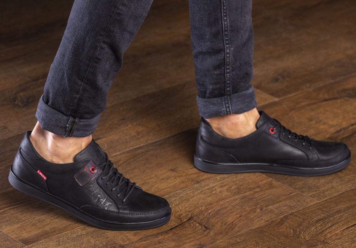 Кеды кроссовки мужские кожаные Levis California
