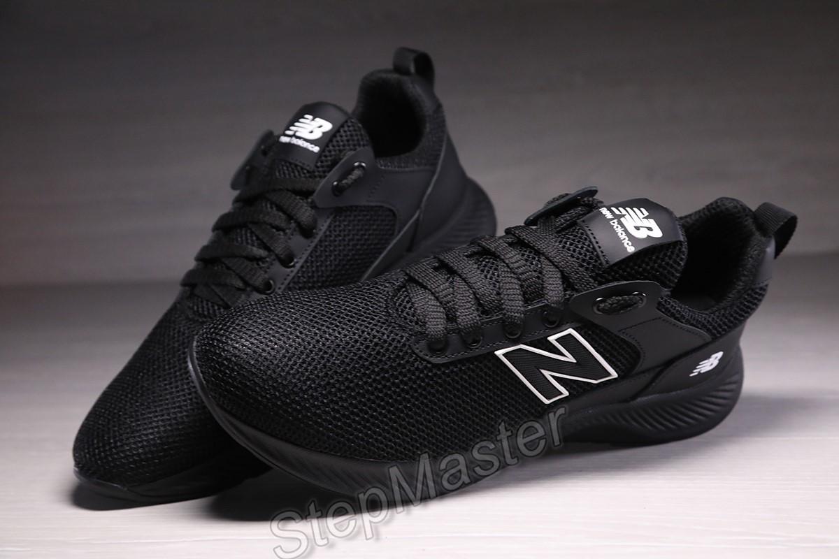 Кроссовки мужские сетка new balance black