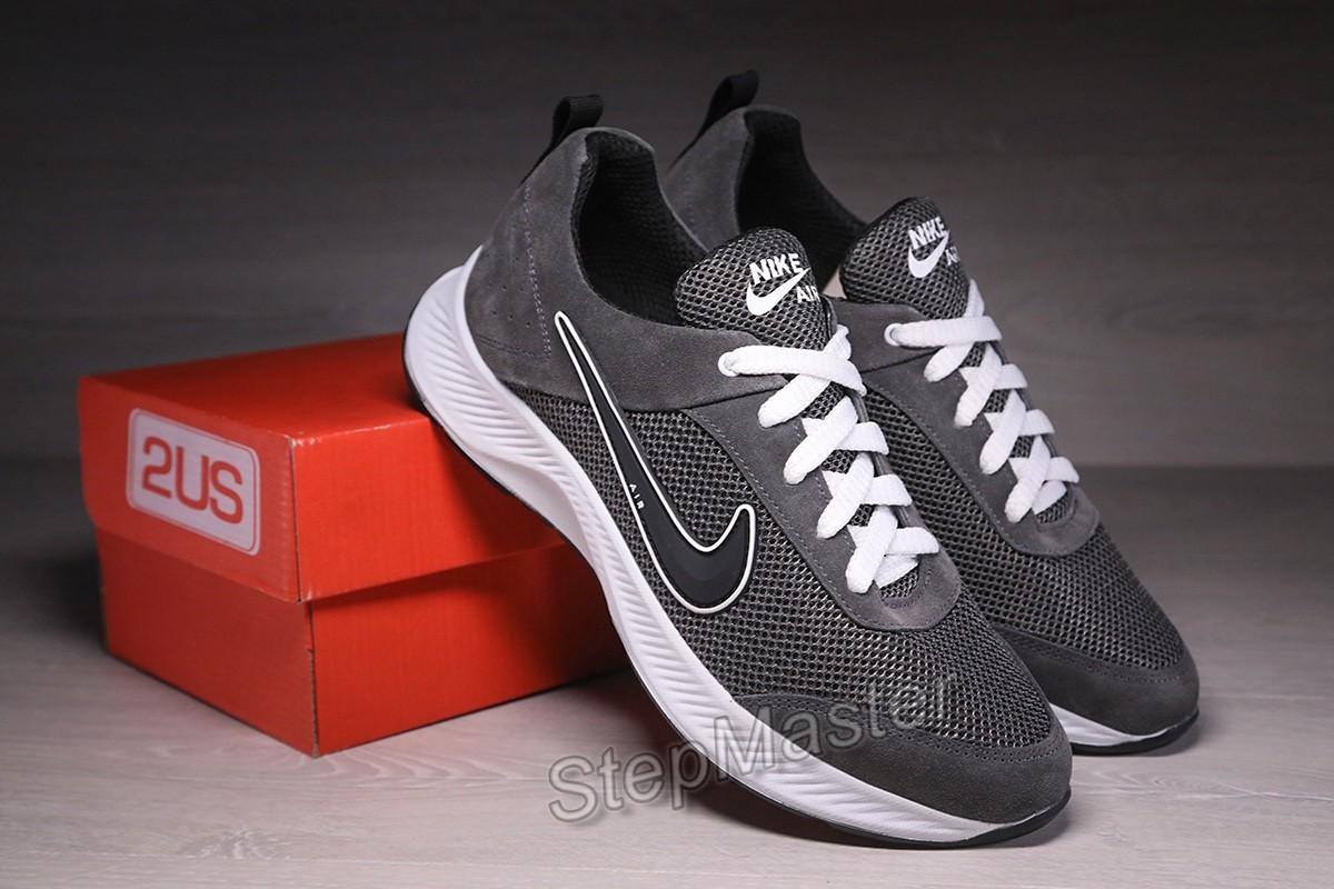 Кроссовки мужские летние Nike Run All Day замша-сетка