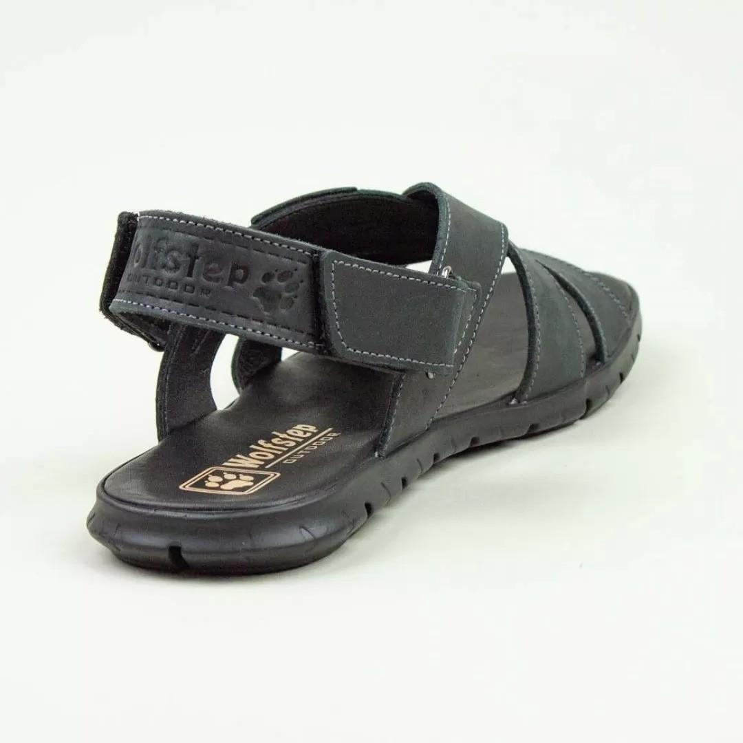 Мужские кожаные сандалии, шлепанцы Jack Wolfskin