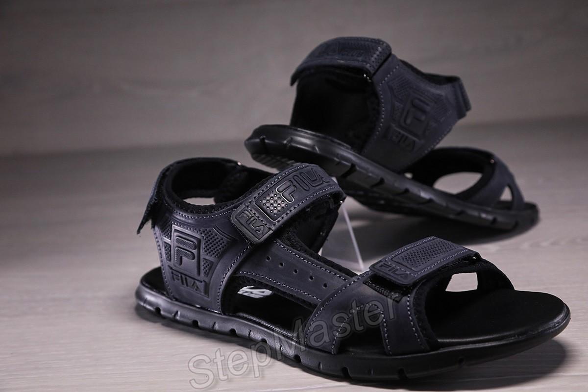 Мужские кожаные сандалии Fila