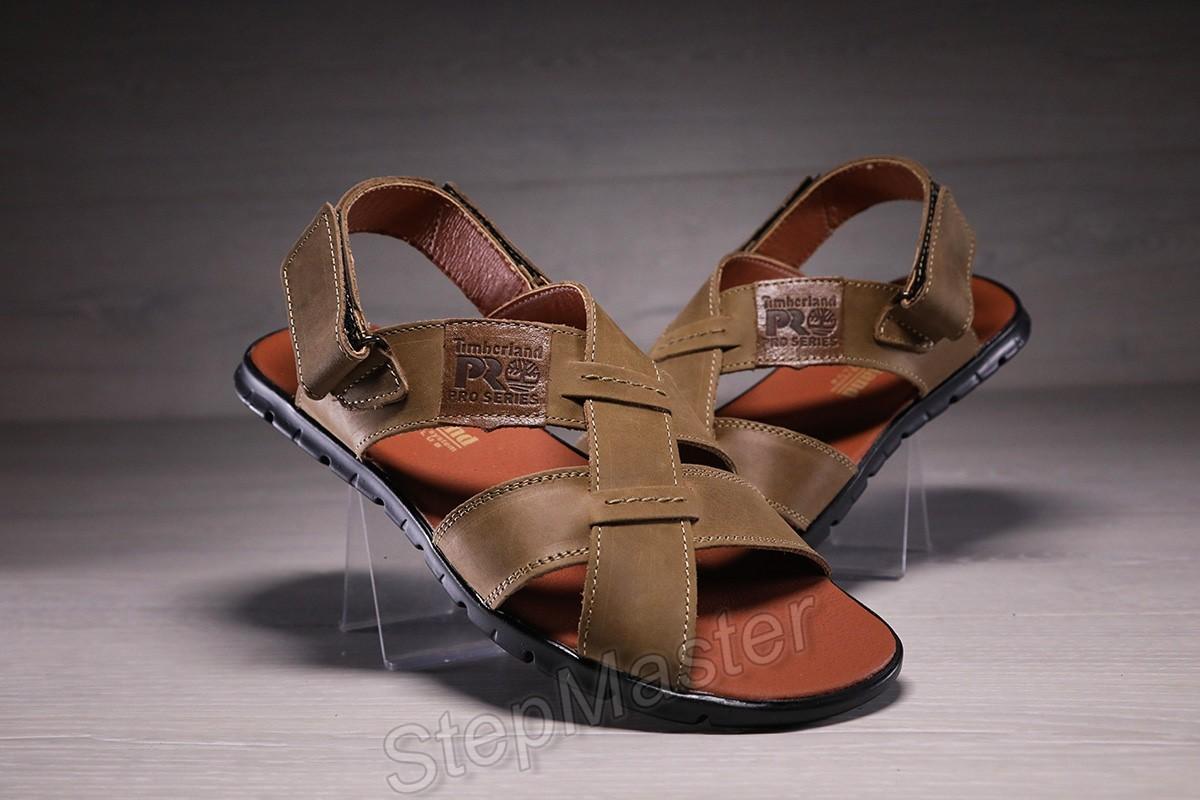 Мужские кожаные сандалии Timberland
