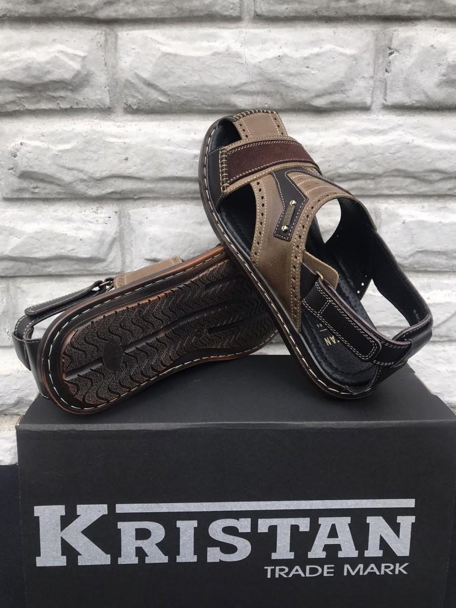 Сандалии мужские кожаные Kristan Ranger