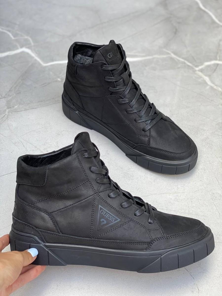 Ботинки мужские кожаные Guess los angeles