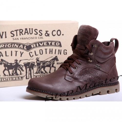 Ботинки кожаные мужские Levis Б 53 - 01