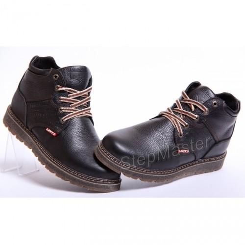 Ботинки мужские кожаные Levis Timberwolf Skin