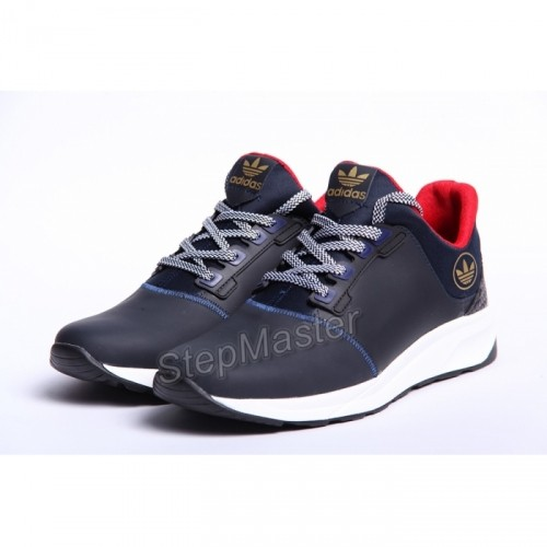 Кожаные кроссовки Adidas Trainers Blue