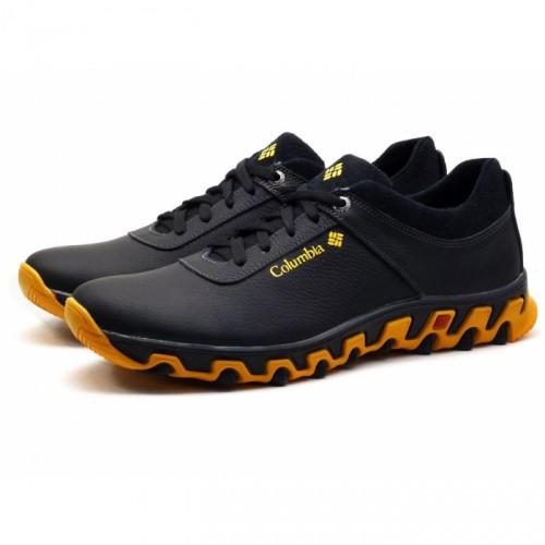 Кроссовки кожаные Columbia Track черные